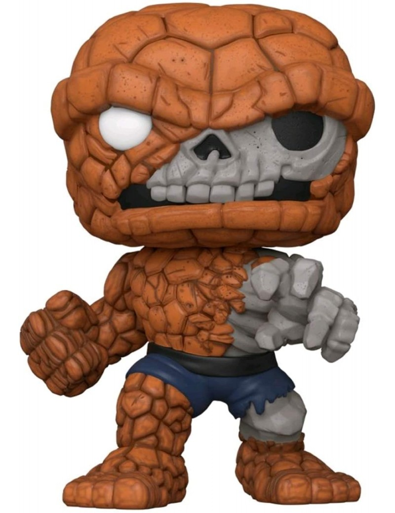 """MARVEL ZOMBIES - BOBBLE HEAD POP N° 665 - ZOMBIE THE THING - 10"""" SS"""