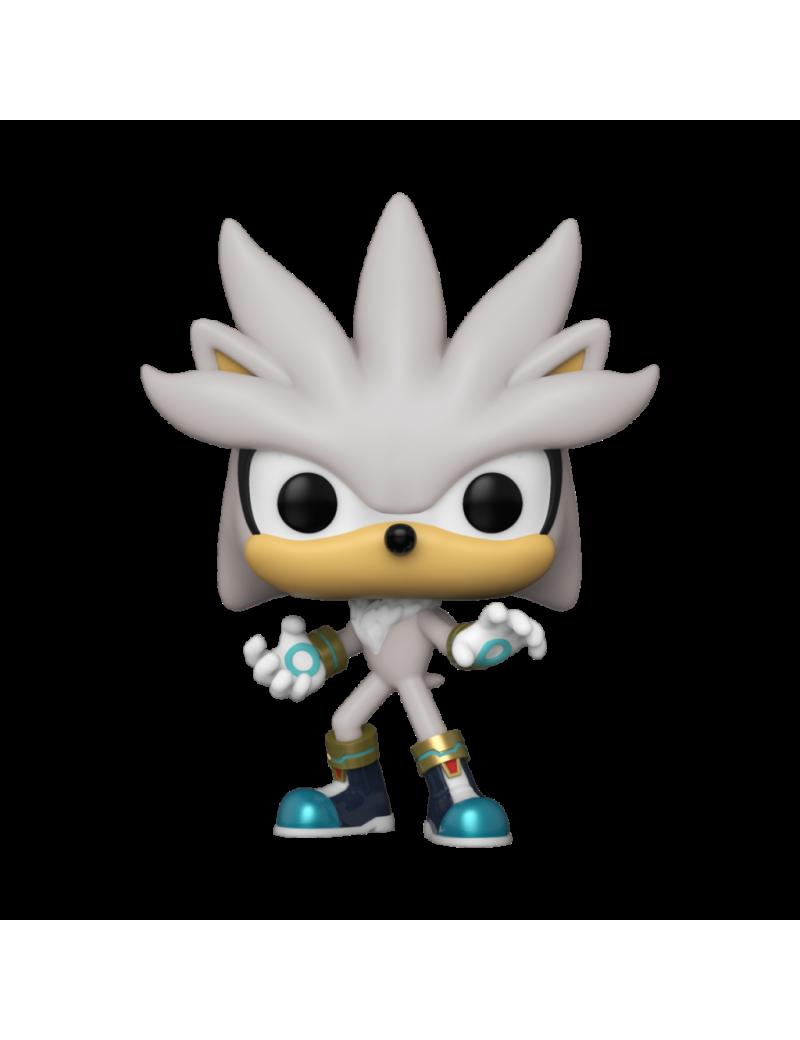 SONIC 30TH - Bobble Head POP N° 633 - Silver the Hedgehog