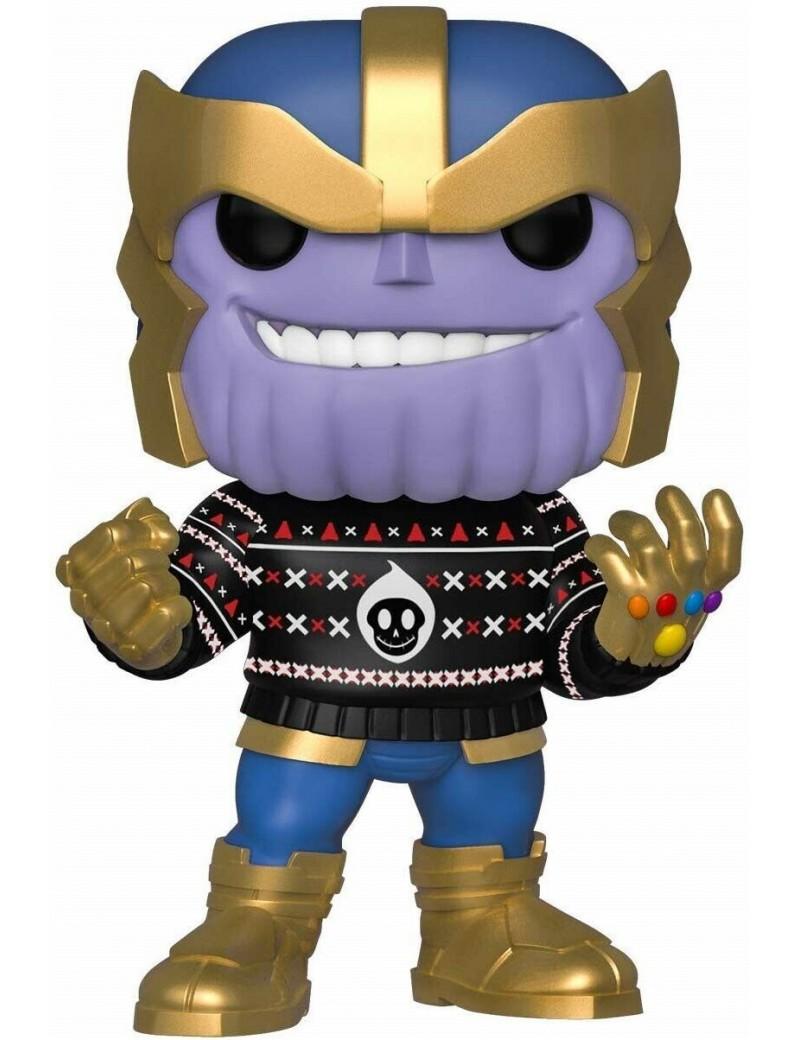 MARVEL - Bobble Head POP N° 533 - Holiday - Thanos