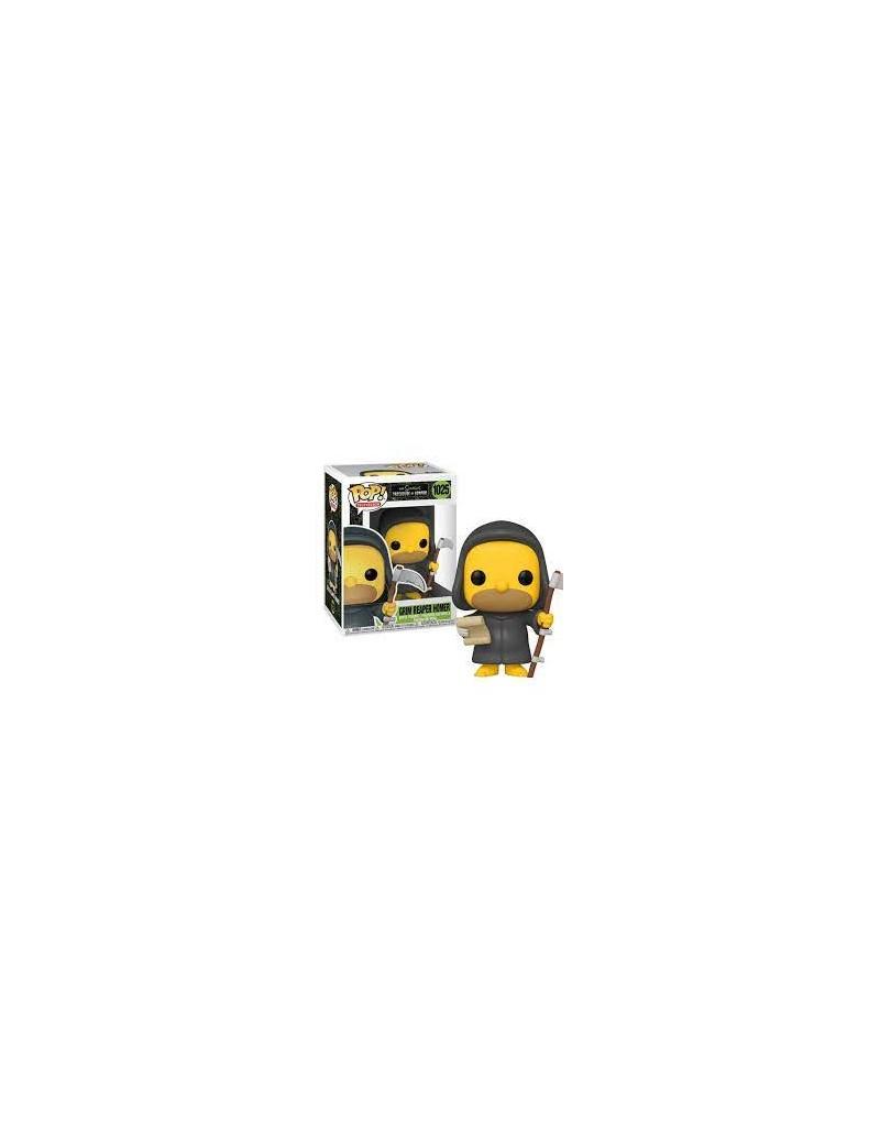 THE SIMPSONS - Bobble Head POP N° 1025 - Grim Reaper Homer