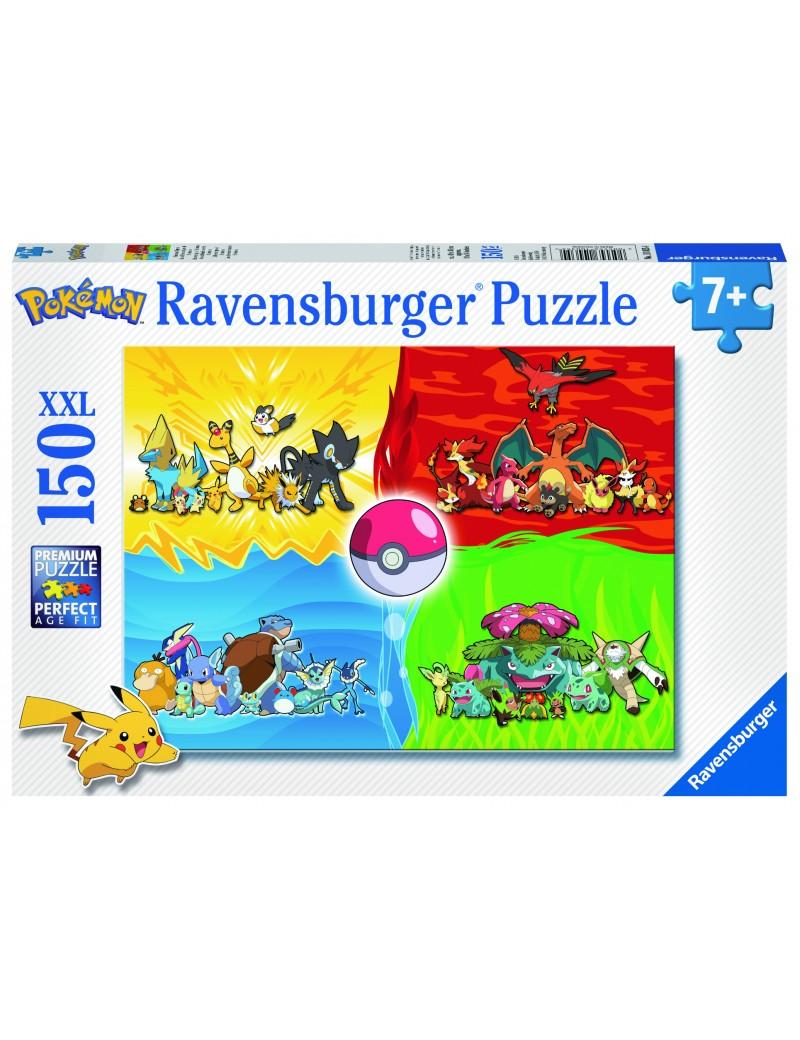POKEMON - Puzzle Pokemon Types - 150 Pces