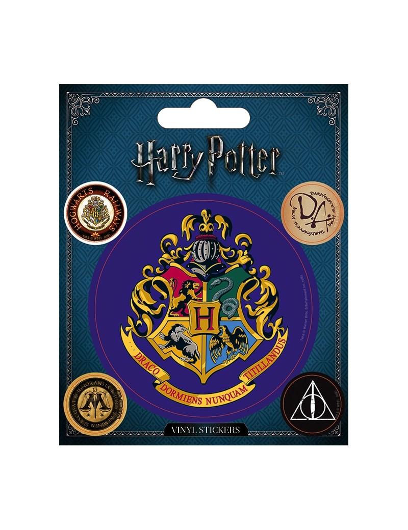 HARRY POTTER - Vinyl Stickers - Hogwarts