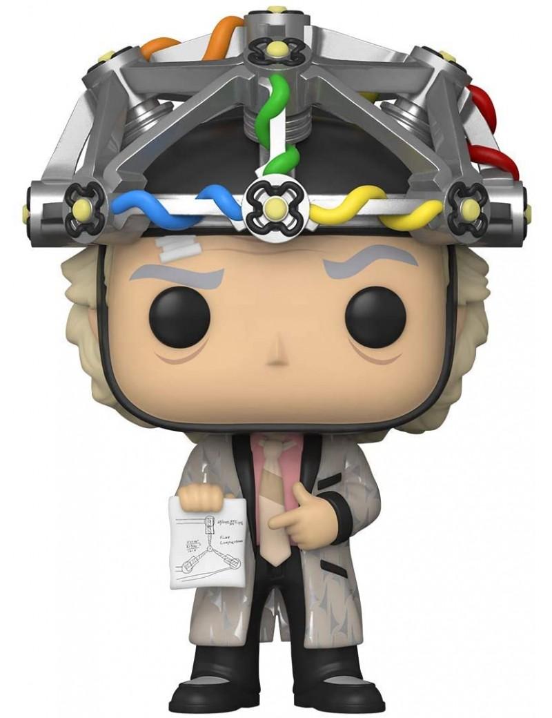 BACK TO THE FUTURE - Bobble Head POP N° 959 - Doc w/Helmet