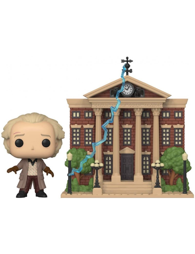 BACK TO THE FUTURE - Funko Pop Town N° 15 - Doc w/Clock Tower