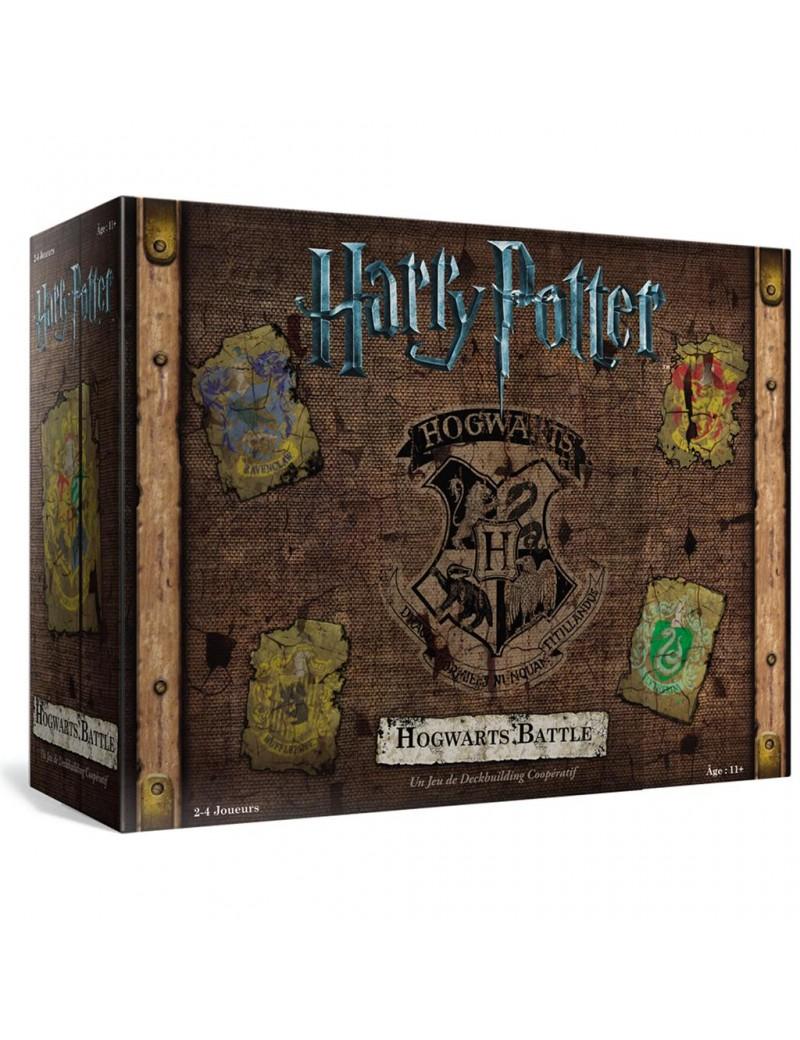 HARRY POTTER Hogwarts Battle - Jeu de Deck-Building Coopératif - FR