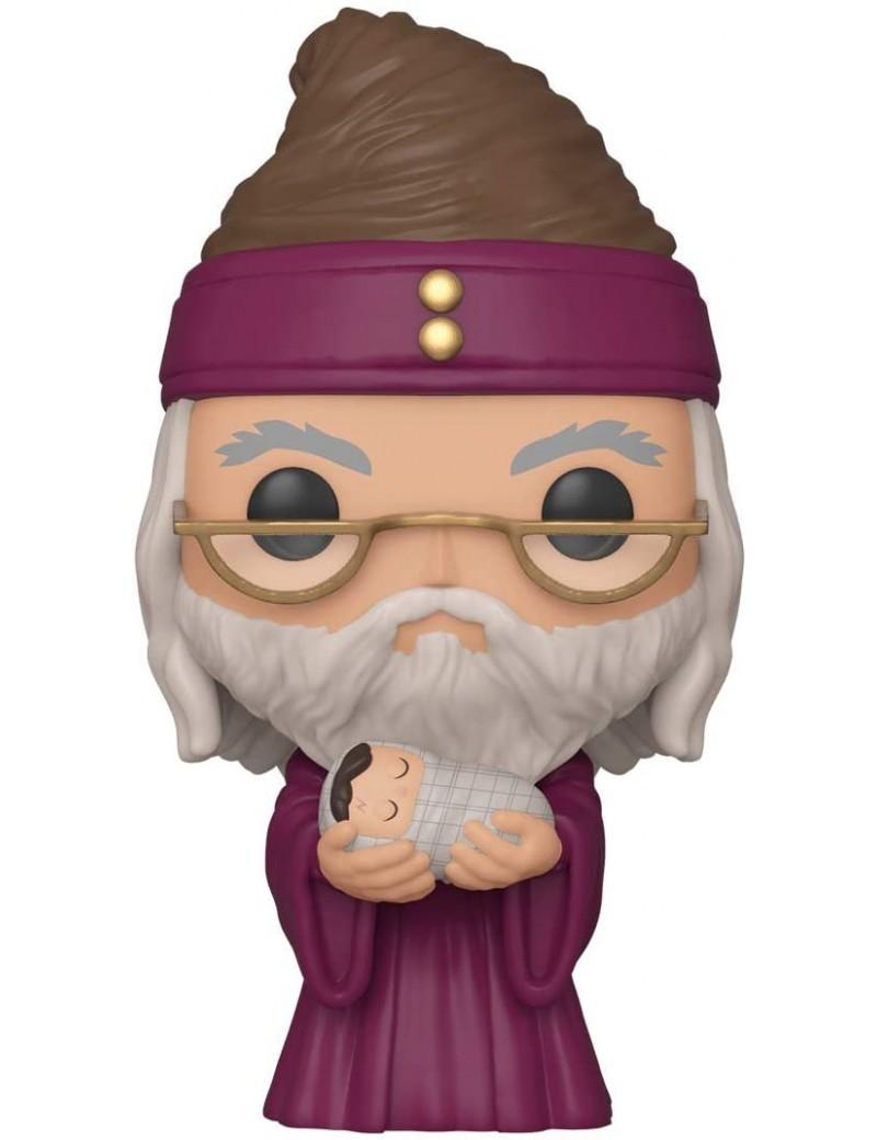 HARRY POTTER - Funko POP N° 115 - Dumbledore w/ Baby Harry