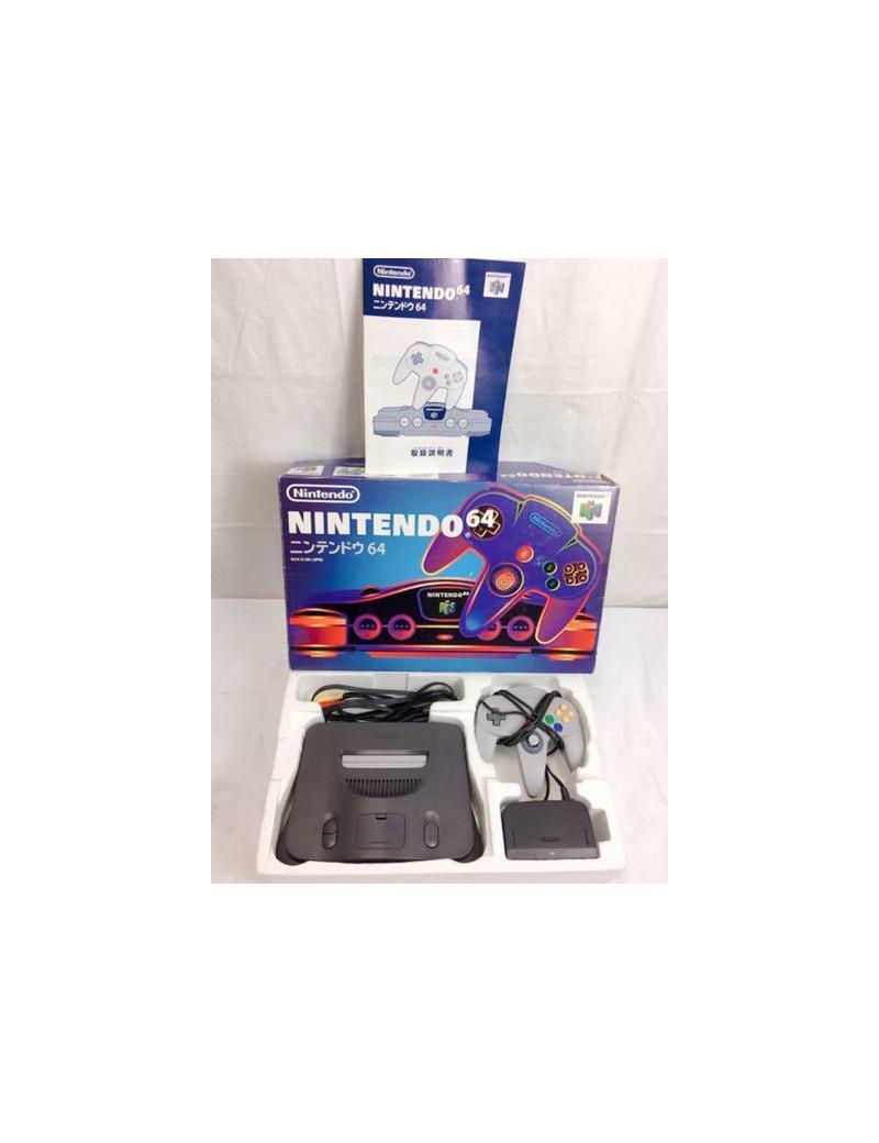 Console NINTENDO 64 Jap NTSC en boîte