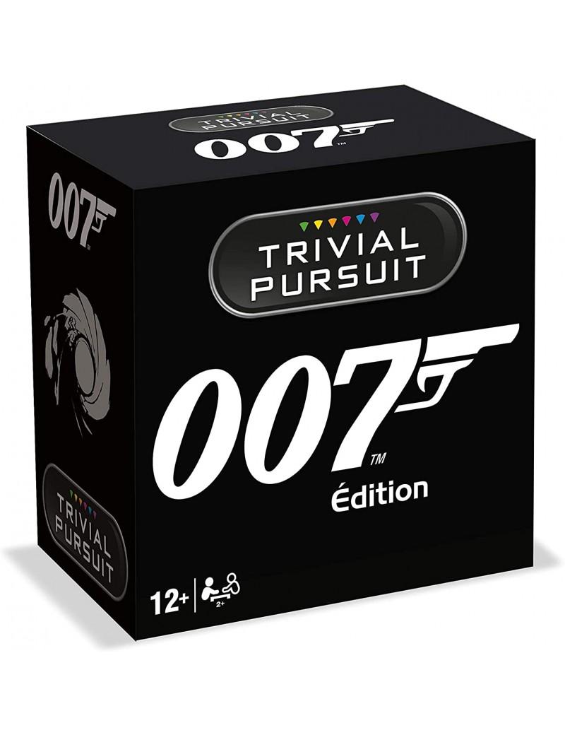 TRIVIAL PURSUIT JAMES BOND 007 - Format de voyage - Jeu de société - Version française