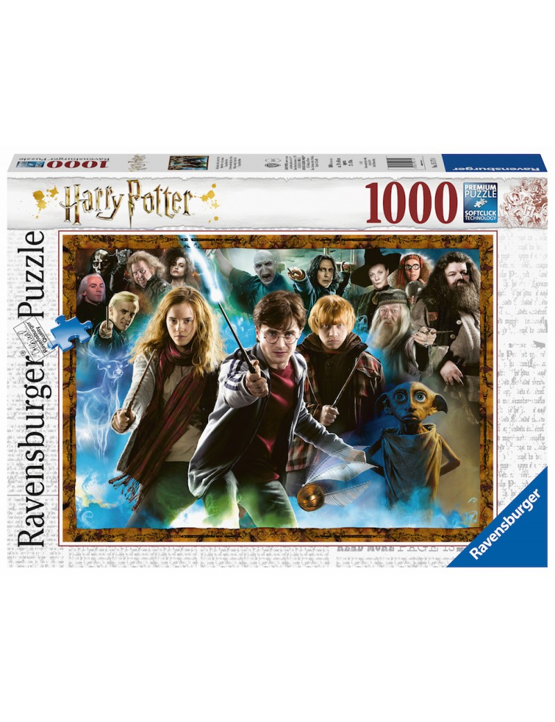 HARRY POTTER - Puzzle 1000P - Characters